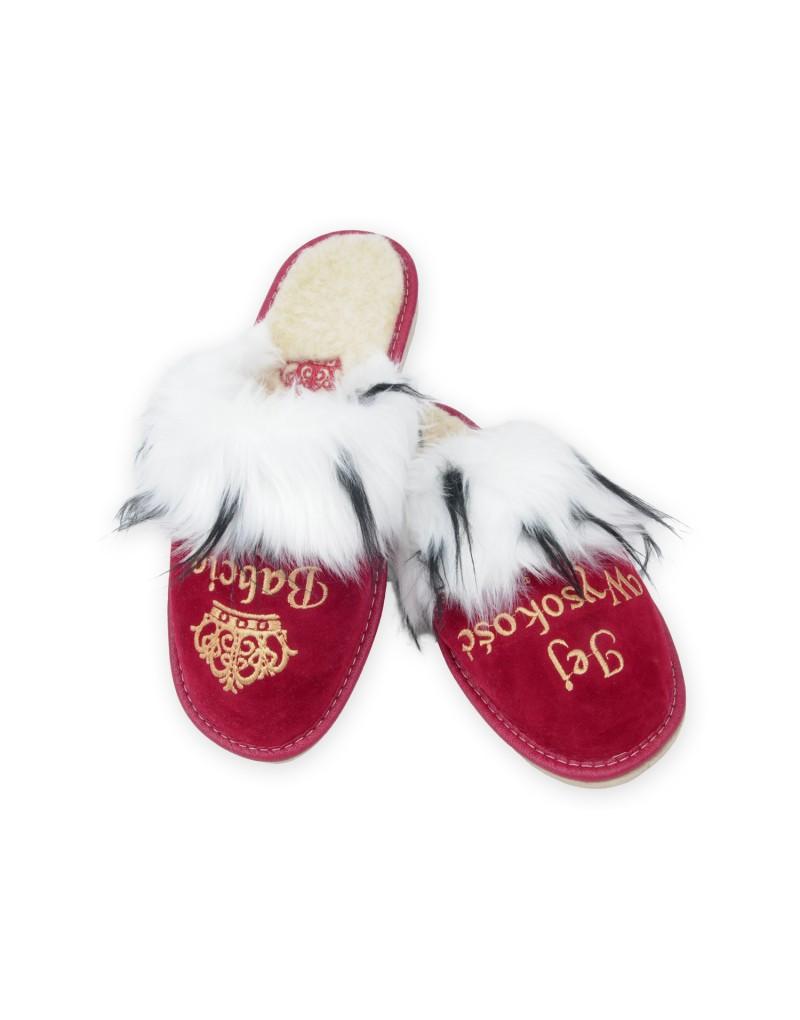 Jej Wysokość Babcia - Królewskie pantofle - Prezent na Dzień Babci - Certyfikat