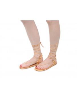 Japonki - Rzymianki - Gladiatorki -Sandały skórzane JR