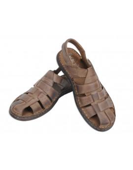 Wygodne męskie sandały skórzane PO2