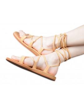 Sandały skórzane Rzymki - Rzymianki
