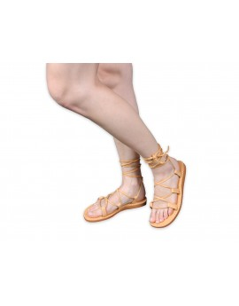 Leather sandals RZYMKI