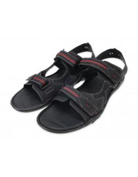 Męskie sandały skórzane polskie skóra naturalna A448D