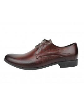Ekskluzywne grawerowane buty wizytowe 6268