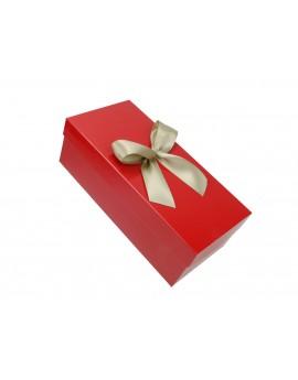 Pudełko na prezent - opakowanie ozdobne 33 x 14 x 12,5 cm z kokardą 2