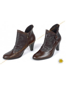 Exclusive ankle-high leather shoes ŻUREK B19