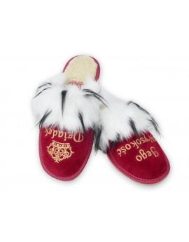 Jego Wysokość Dziadek - Królewskie pantofle - Praktyczny prezent na Dzień Dziadka