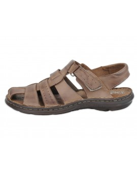 Męskie sandały skórzane wygodne