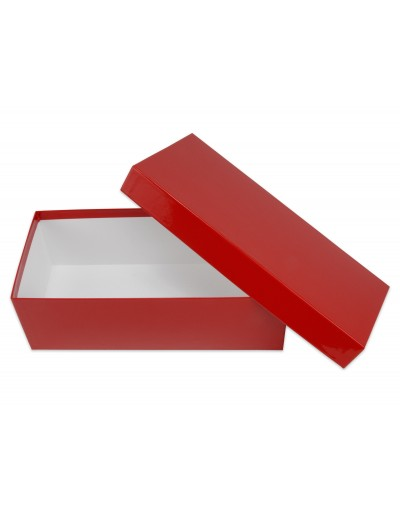 Pudełko na prezent - ozdobne opakowanie kartonowe 30 x 14 x 10 cm