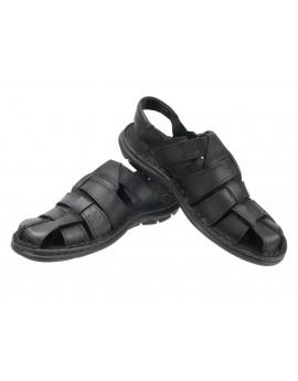 Solidne sandały męskie - skóra naturalna PO2
