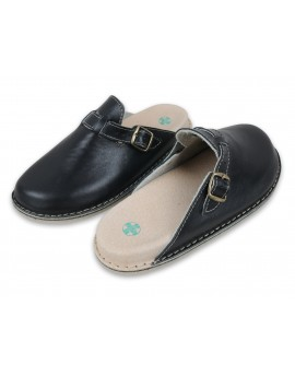 Leather flippers FUSBET