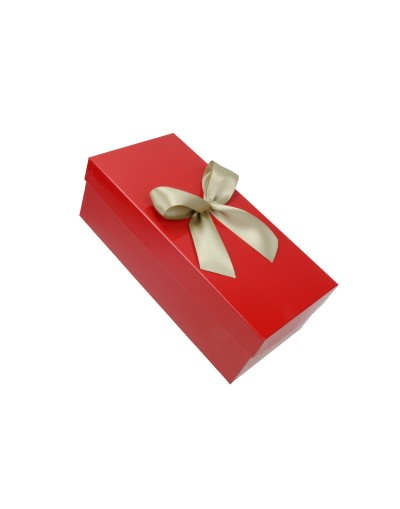 Pudełko na prezent - opakowanie ozdobne 30 x 14 x 10 cm z kokardą 2