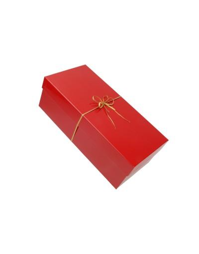 Pudełko na prezent - opakowanie ozdobne 33 x 14 x 12,5 cm z kokardą 3