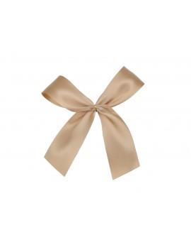 Złota kokarda ozdobna do dekoracji prezentów