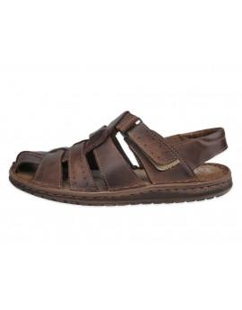 Męskie sandały skóra naturalna PO2